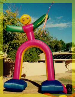 California Inflatables dancing balloon