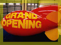 14ft California Inflatables blimp